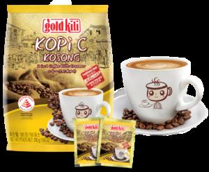 Traditional KopiC Kosong, No Added Table Sugar