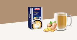 Ginger Latte with Honey
